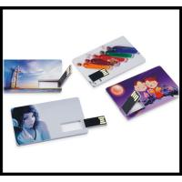 Buy cheap business trip usb flash 2016 full capacity flash drive credit card usb flash from wholesalers