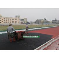 Buy cheap 13mm Synthetic Rubber Flooring Outdoor / Indoor Abroad Construction Service On - Site Guidance from wholesalers