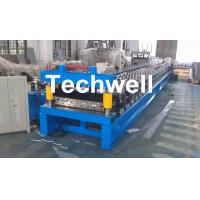 Cheap Main Motor Power 7.5kw Roofing Sheet Making Machine / IBR Profile Roll Forming Machine for sale
