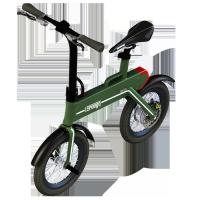"Cheap Green Power Foldable Electric Scooter , 12"" Electric Wheel Bike wholesale"