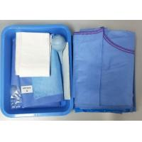 Cheap Caesarean Section Surgical Procedure Packs One time  PE Film Hospital Medical Supply for sale