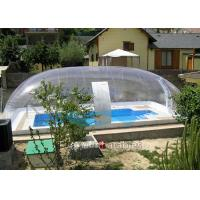 Cheap Clear Bubble Wrap Pool Cover Waterproof Bubble Dome Tent Cover For Pool for sale