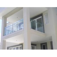 Cheap Stainless steel spigot glass railing/ glass balustrade for balcony use design for sale