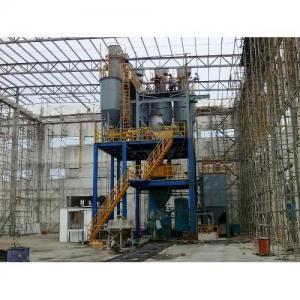 Tile grout production line