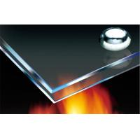 Cheap Heat Insulated Fire Resistant Glass Sheet Ultra Clear For Curtain Wall for sale