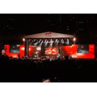 Cheap Big Stage LED Screens Outdoor , waterproof LED Curtains Backdrop Enviromental wholesale