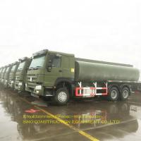 China Large Capacity Oil Tank Truck 20 CBM Steel Fuel Carrier Tanker Truck on sale