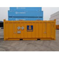 Cheap 20 Foot Metal Shipping Containers , Storage Container With Side Doors Industrial for sale
