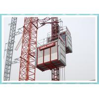 Cheap CE Material Hoisting Equipment , Passenger And Material Hoist Used In Building / Construction wholesale