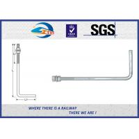 """Cheap Steel bolts and nuts hot dipped galvanized anchor bolts with Nut & Washer 3/4""""×24"""" for sale"""