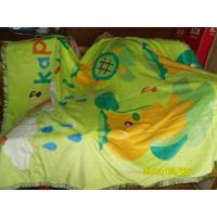 Cheap Double Printed Pure Silk Blanket With Soft 100% Cotton 140X200CM for sale