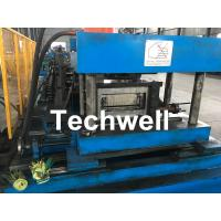 Cheap High Speed GI / Carbon Steel Coil Profile / Cable Tray Forming Machine 11KW for sale