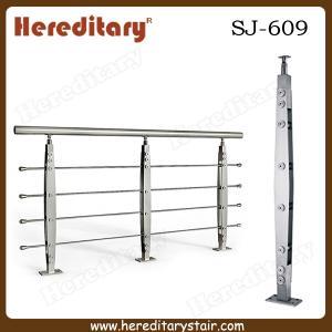Cheap Modern Stainless Steel Rod Balustrade for Staircase (SJ-609) for sale