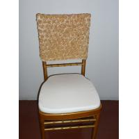 Buy cheap rose chair cover for wedding event from wholesalers