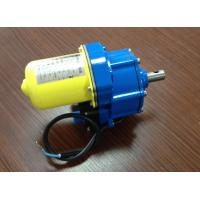 Cheap 100W DC24v Greenhouse roll up motor , Worm gear 90Nm electric roll up for sale