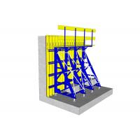 Cheap Solid Structure One Sided Wall Formwork , Single Sided Formwork Simple Operation for sale
