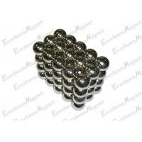 """Cheap Little / Mini Neo Cube Neodymium Ball Magnets 3 / 4 """" Diameter Nickel Plated For Education for sale"""