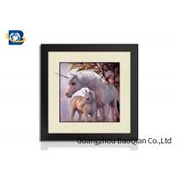 Cheap 40x40cm Customised Decorative Pictures 3D Lenticular Printing Service PS Frame For Gift for sale