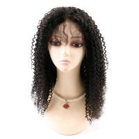 Cheap Kinky Curly Front Lace Wigs , Lace Front Full Wigs Human Hair 8A Grade for sale