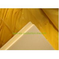 Cheap 350Kpa 50mm Yellow Extruded Polystyrene Foam Board for Housing Industrilization for sale