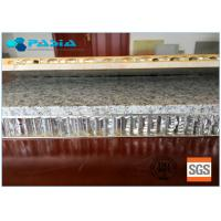 Buy cheap 900x900 Sized Marble Stone Aluminum Honeycomb Sandwich Panels Flat 20mm from wholesalers
