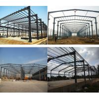 China Durable Prefab Metal Sheds , Stoving Varnish Steel Structure Prefabricated House on sale
