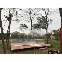 Cheap Hotel Clear Inflatable Bubble Tent , Outdoor Inflatable Transparent Tent For Camping for sale