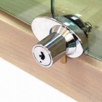 Cheap Cabinet Swing Glass Door Lock for Double Doors, Available in Various Finishes for sale