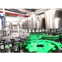 China Beverage Liquid Glass Bottle Filling Machine 500ml Juice Processing And Production on sale