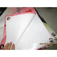 China Digital Printing Large PVC Vinyl Banners Weather Resistant CMYK Color Code on sale