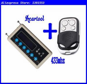 Cheap Acartool car remote control copy 433mhz car remote code scanner + 433mhz A002 car door remote control copy for sale
