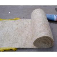 High quality rock mineral wool blanket insulation with for Stone mineral wool