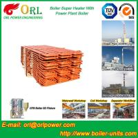 Buy cheap Fire Tube Boiler Superheater / Super Heaters For Petroleum Industry from wholesalers