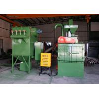 3P Steel Shot Blasting Equipment , Shot Peening Machine For High Precision Casting Industry