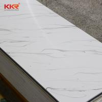Cheap artificial stone acrylic solid surface for acrylic bathroom wall panels for sale