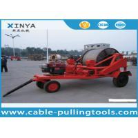 Buy cheap 3 - 8T Multi function Full Cable Drum Trailer Machine for electric power from wholesalers