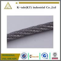 Buy cheap SUS304 316 6*19+fc stainless steel cable for tow made in china with cheap price from wholesalers