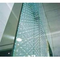 China 190 x 190 x 80mm structural glass curtain wall brick for residential, bars on sale