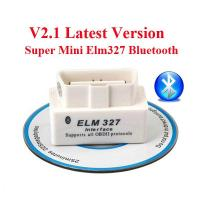 Cheap V2.1 OBD2 ELM327 Interface Bluetooth Diagnostic Code Scanner For Cars for sale