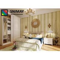 China Louver Door Modern Wooden Bedroom Furniture Sets With Mentle Rack And Handle on sale