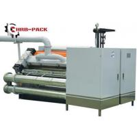 Cheap Heating Exchange Single Facer For Corrugated Cardboard Production Line for sale
