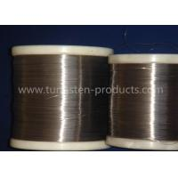 China 99.95% Purity Surface Polished Molybdenum Wire Products With Diameter 0.04 - 2.0mm on sale