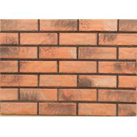 Cheap Solid exterior veneer brick wall wear resistance for house building design wholesale