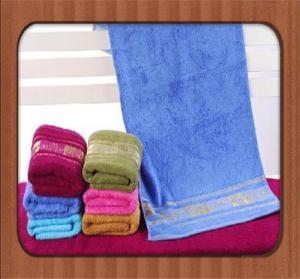 China hot sale custom good quality jacquard pure bamboo fiber face towel wholesale baby towel on sale