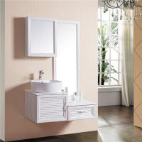 China Practical Stylish Bathroom Sinks And Vanities / Wall Mount Vanity Sink Low Flammability on sale