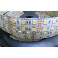 Cheap white color 5050 120leds/m ip65 silicon rubber double row led strip for sale