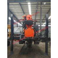 Buy cheap 180m Dth Water Well Drilling Rig 17 - 25 Bar Air Drill Rig 130 - 254mm Diameter from wholesalers