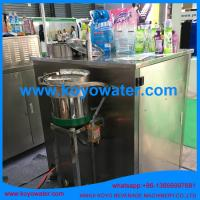 Quality liquid milk juice water stand up retort spout pouch filling machine wholesale