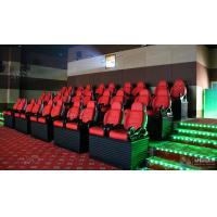 Quality Professional Scene 5D Movie Theater For Indoor Mini Cabin Cinema Red / Black wholesale