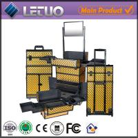 China LT-MCT0036 aluminum beauty cosmetic makeup case aluminum make up trolley case on sale
